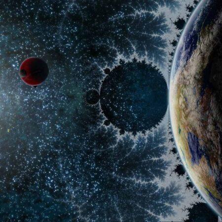 fraktal evren
