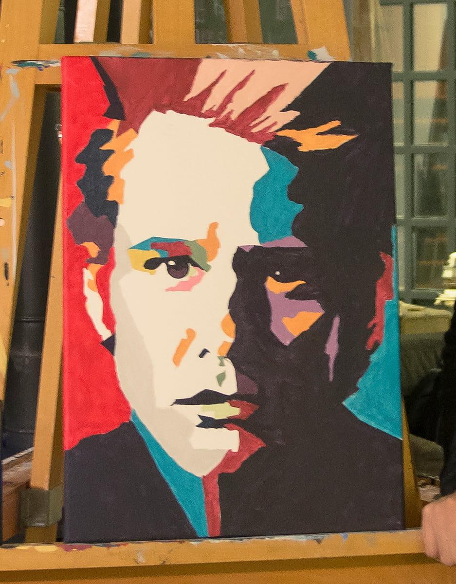Jim Carrey Pop Art Çalışması