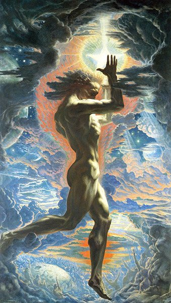 prometheus jean delville the lighthouse
