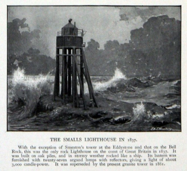 the smalls lighthouse
